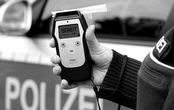 Polizei, Alkohol