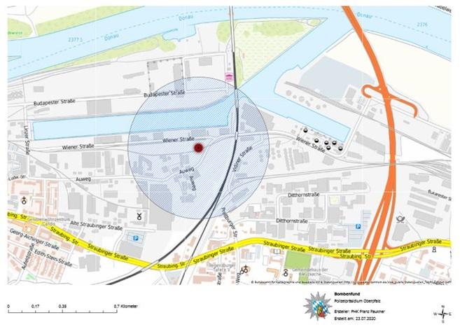 Evakuierung Regensburg Heute